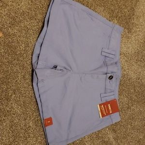 Light purple shorts size 7